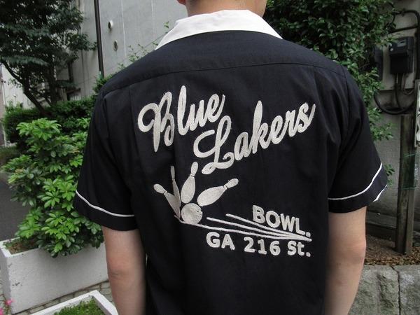ヒューストンのボーリングシャツ