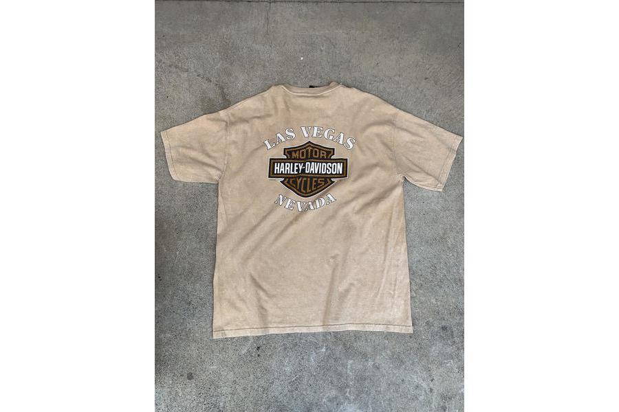 ハーレーダビッドソンのTシャツ