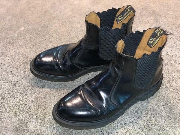 ト゛クターマーチンの革靴