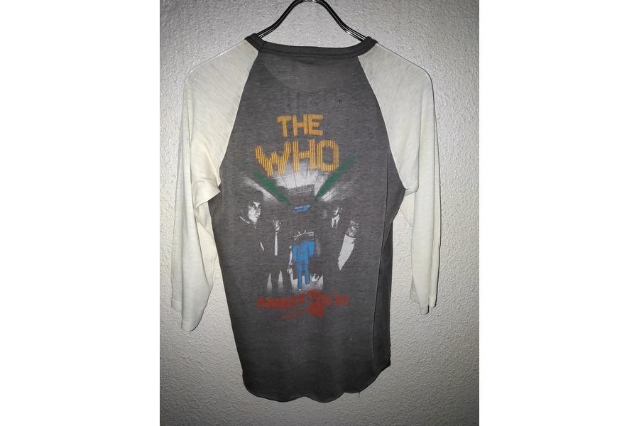 THE WHOのバンドTシャツ