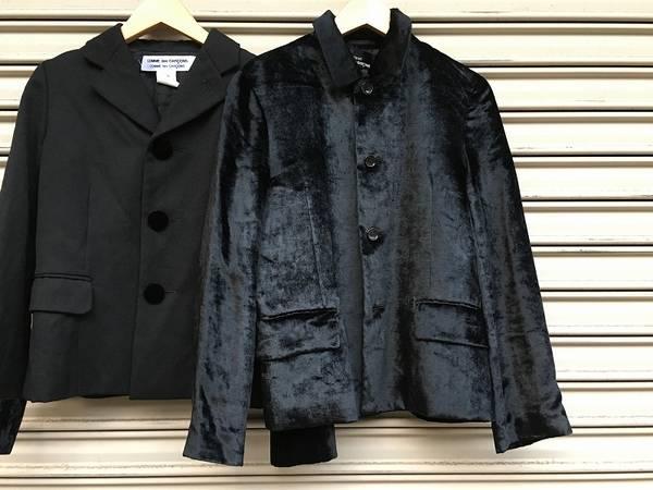 可愛らしいギャルソンのジャケット2着ご紹介【古着買取トレファクスタイル高円寺2号店】