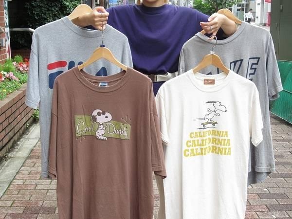 個性的なフロントプリントTシャツでこの夏を楽しもう!【古着買取トレファクスタイル高円寺2号店】