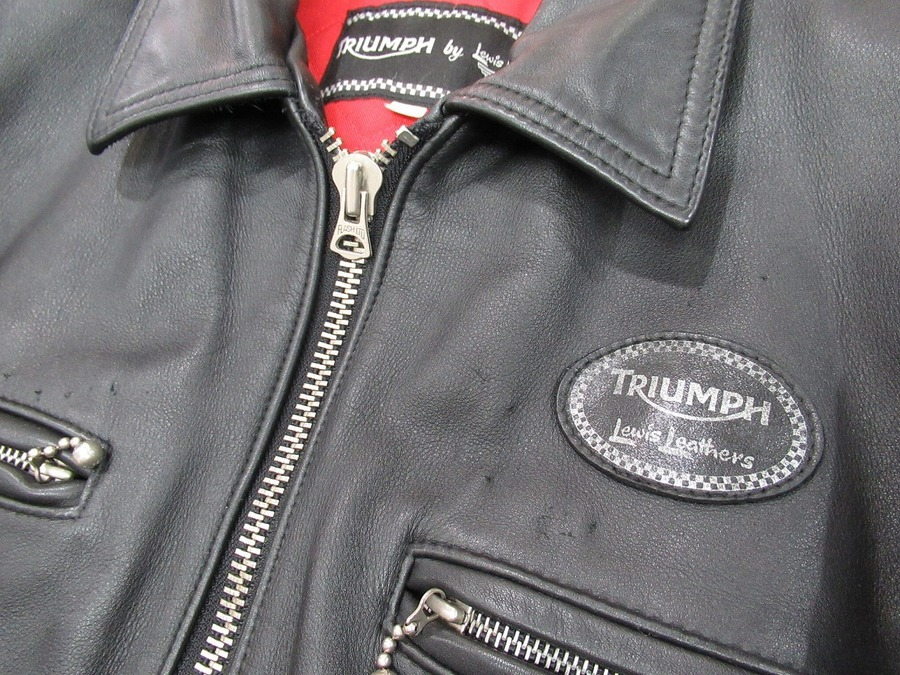 Triumph by Lewis Leather(トライアンフ バイ ルイスレザー)バイカージャケット買取入荷!