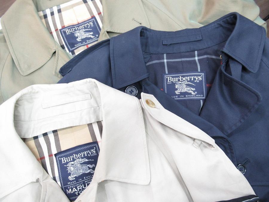 【高円寺店ヴィンテージブログ】春の定番、BURBERRYのコートがまとめて入荷!
