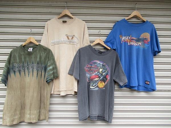【高円寺店ヴィンテージブログ】90's HARLEY-DAVIDSON Tシャツが多数買取入荷!