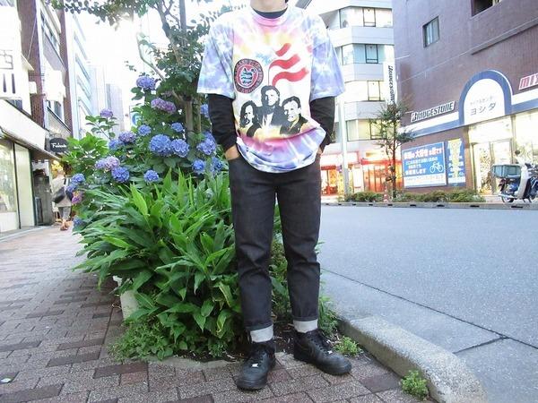 【高円寺店ヴィンテージブログ】FRUIT OF THE LOOMボディーのタイダイバンドTシャツが入荷!