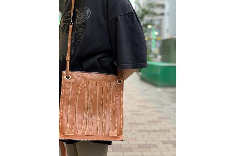 【高円寺店ヴィンテージブログ】LOEWE/ロエベのレザーショルダーバッグが買取入荷!