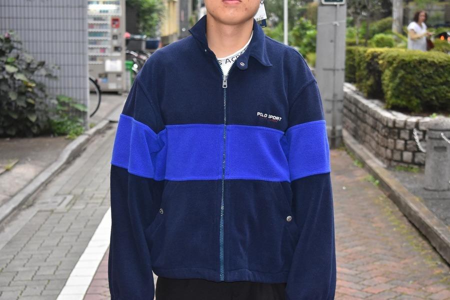 【高円寺ヴィンテージブログ】POLO SPORTからフリースジャケットが入荷致しました!
