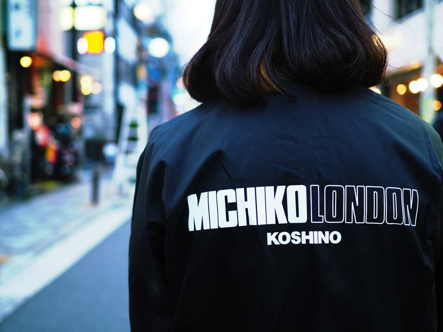 e84cdf23c164d 30周年を記念してラフォーレ原宿に限定ショップをオープンすることでも話題のMICHIKO LONDON KOSHINOですが  15年春夏シーズンにjouetie(ジュエティ)とコラボしたMA-1 ...