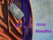 【超絶最速入荷】NEEDLES(ニードルス)19AWのTrack Pant(トラックパンツ)がどこよりも早く当店に!
