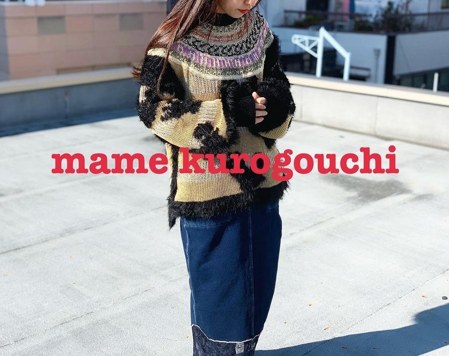 「ラグジュアリーブランドのMame Kurogouchi 」