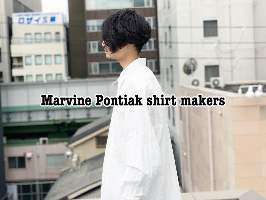 「ドメスティックブランドのMarvine Pontiak Shirt Makers 」