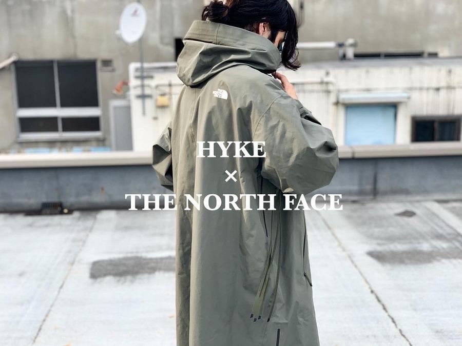 「コラボ・別注アイテムのHYKE×THE NORTH FACE 」