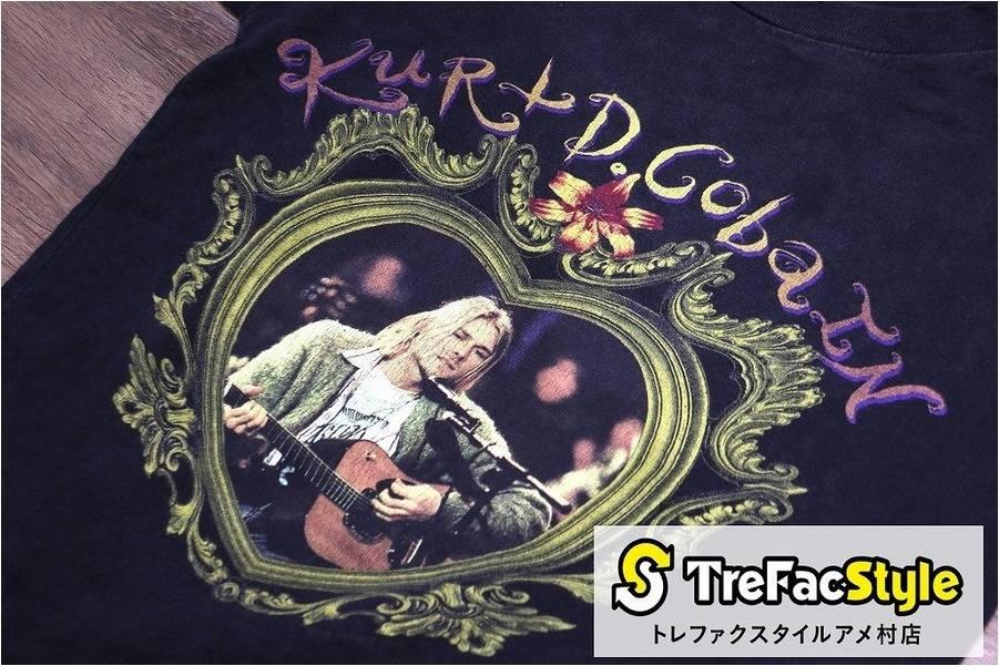 二度とない衝撃アイテム!95年カート・コバーン追悼Tシャツ。スペシャルヴィンテージ買取!
