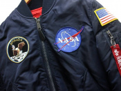 ALPHAからNASAの日本限定モデルMA‐1ジャケットが入荷!