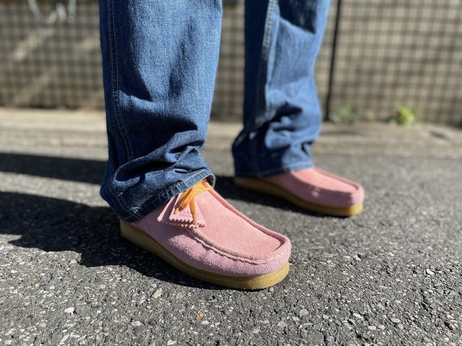 「インポートブランドのCLARKS × LEVI'S VINTAGE CLOTHING 」