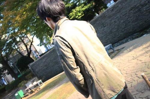 ジャケットのHYSTERIC GLAMOUR