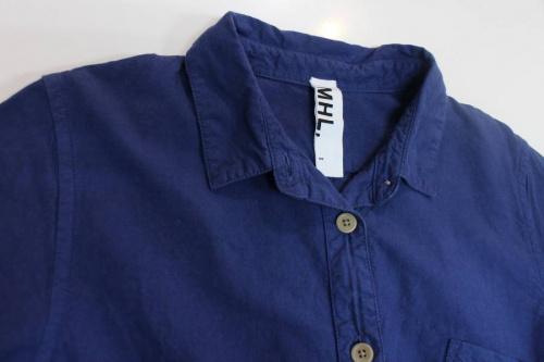 MHLのシャツワンピース