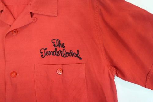 テンダーロインのボーリングシャツ