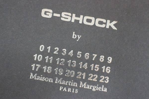 これが全世界3000個のコラボウォッチ『G-SHOCK by Maison Martin Margiela』