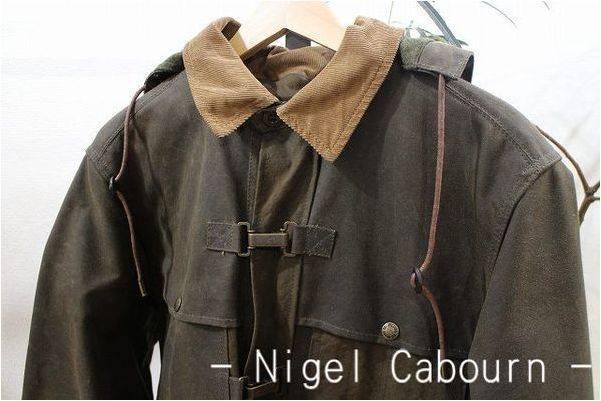 Nigel Cabourn(ナイジェルケーボン) 一生物オイルドコート入荷 ...