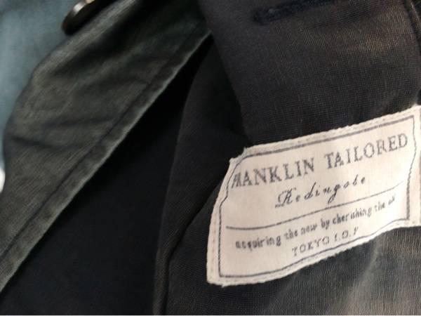 「フランクリンテーラードのスタンドカラーコート 」