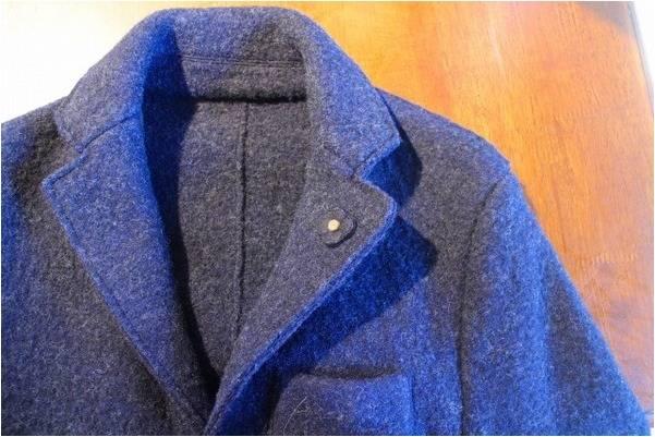 「冬アウターのウールコート 」