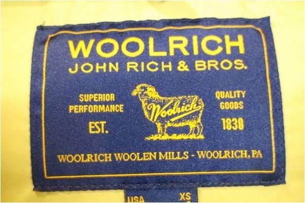 「WOOLRICHのウールリッチ 」