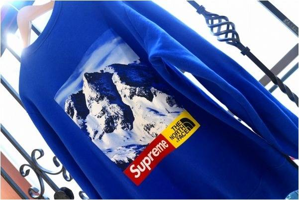「SUPREMEのTHE NORTH FACE 」
