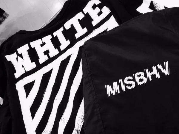 MISBHV/ミスビヘイブ、Off-White/オフホワイトなどネオストリートブランド続々入荷!
