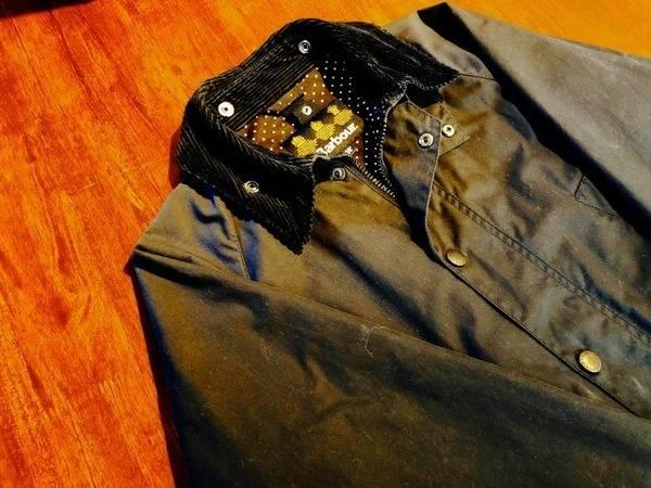 小粋なヨーロピアンの普段着。Barbour ビデイルジャケット