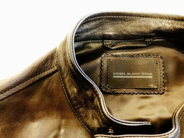DIESEL BLACKGOLD(ディーゼル ブラックゴールド)のラムレザージャケット入荷しました