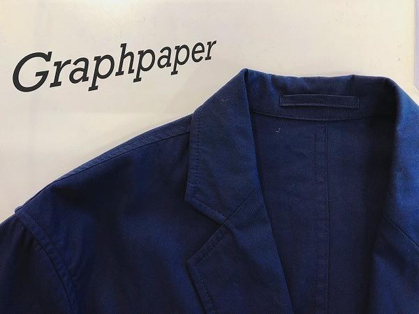 Graphpaper (グラフペーパー)のStandard box Jacket(スタンダードボックスジャケット) が入荷しました