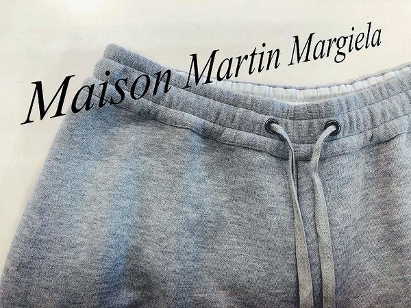 Maison Martin Margiela(メゾンマルタンマルジェラ )のスウェットワイドクロップドパンツが入荷しました