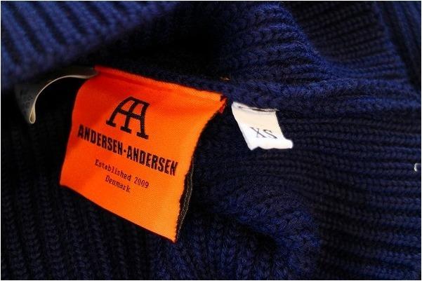 【ANDERSEN-ANDERSEN/アンデルセンアンデルセン】CREWNECK Knitが入荷しました!!