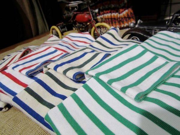 「セントジェームスのバスクシャツ 」