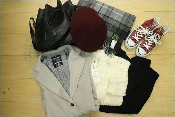 「レディースファッションのコーデ 」