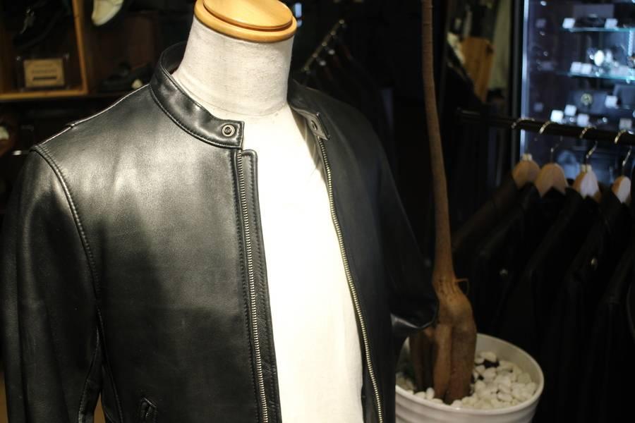 「レザージャケットのラルフローレン 」