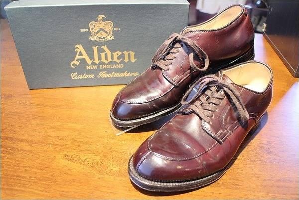 オールデンの靴