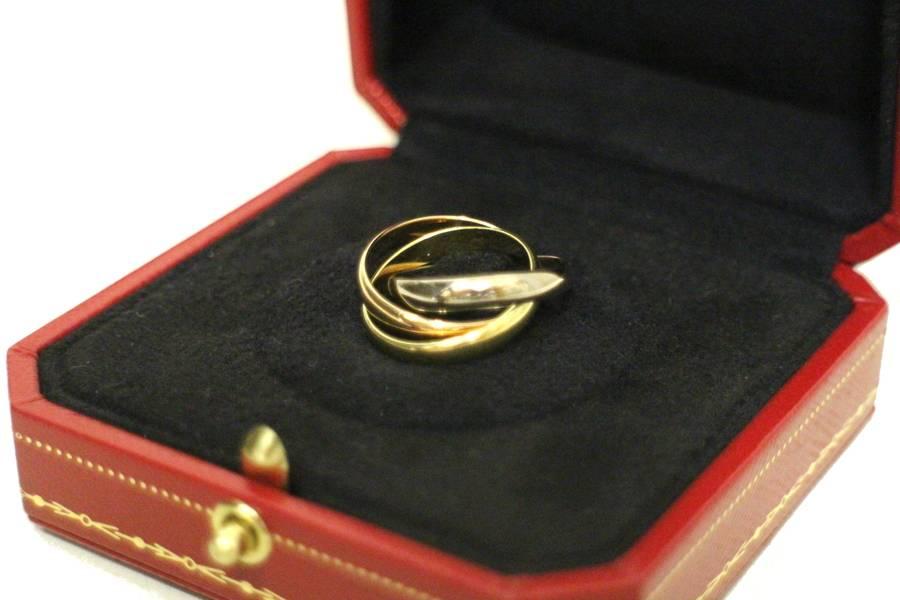カルティェの指輪