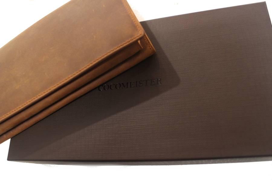 ココマイスターの革財布