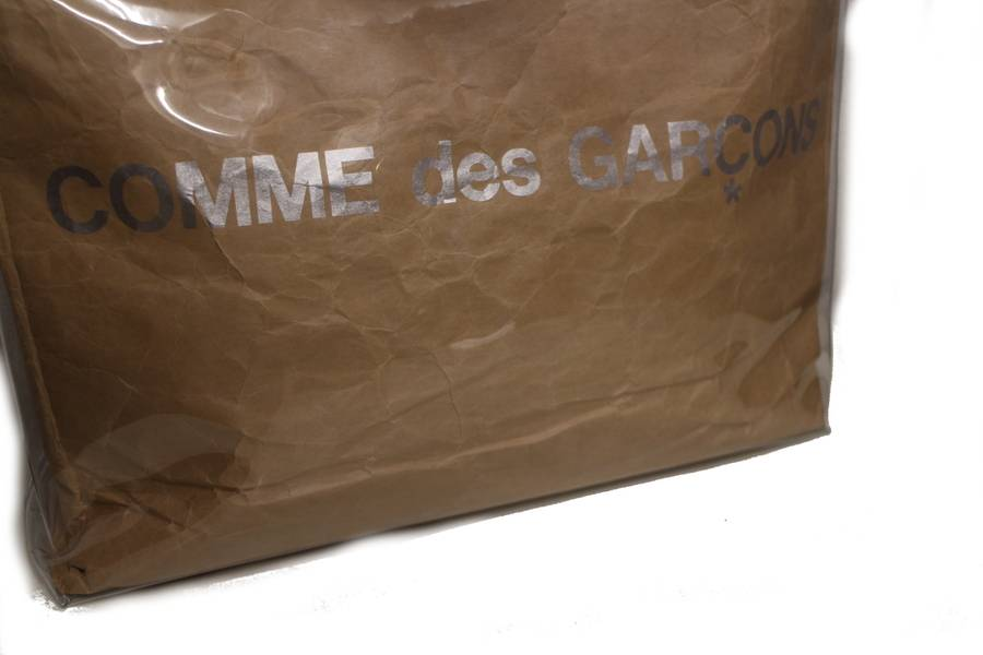 comme des garconsのビニールトートバッグ