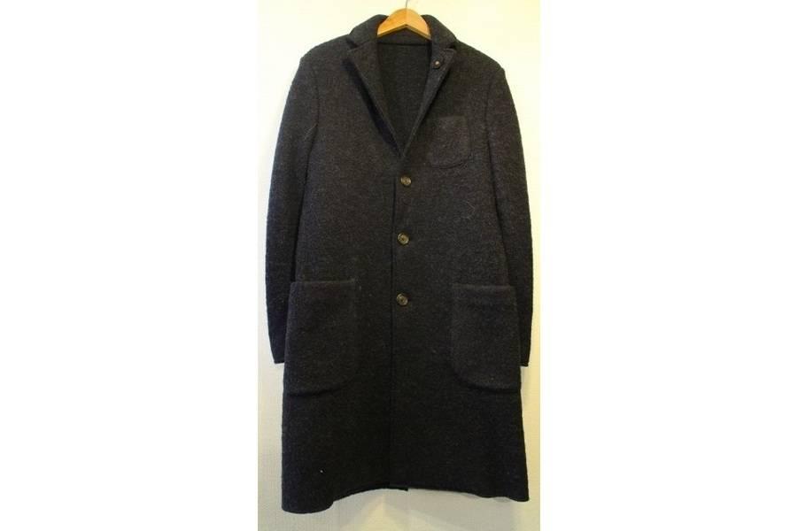 ウールコートのウールジャケット