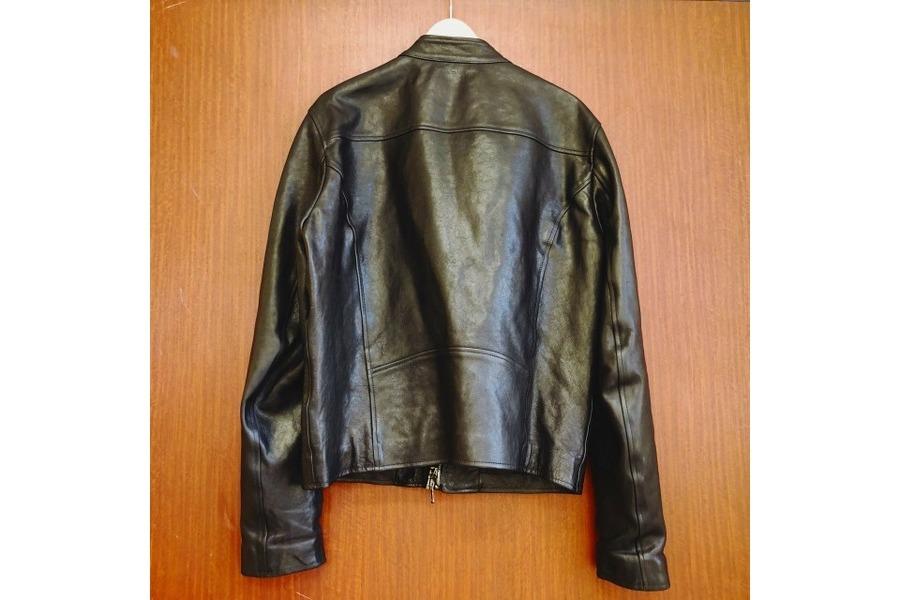 ディーゼルブラックゴールドのラムレザージャケット