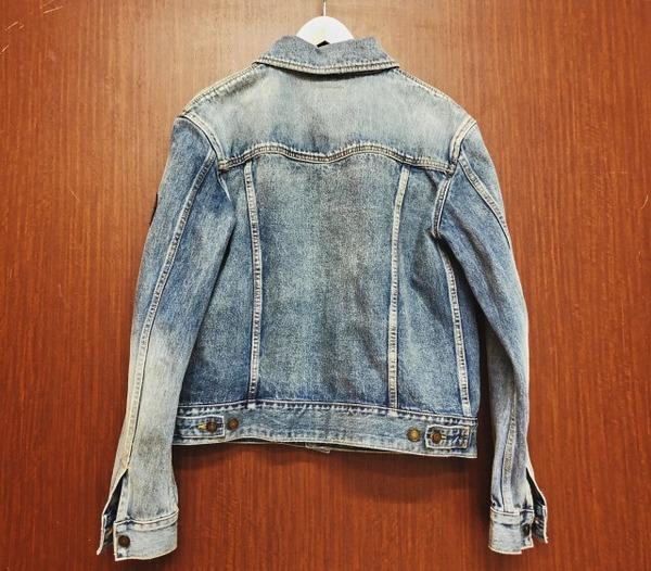 サンローランパリのデニムジャケット