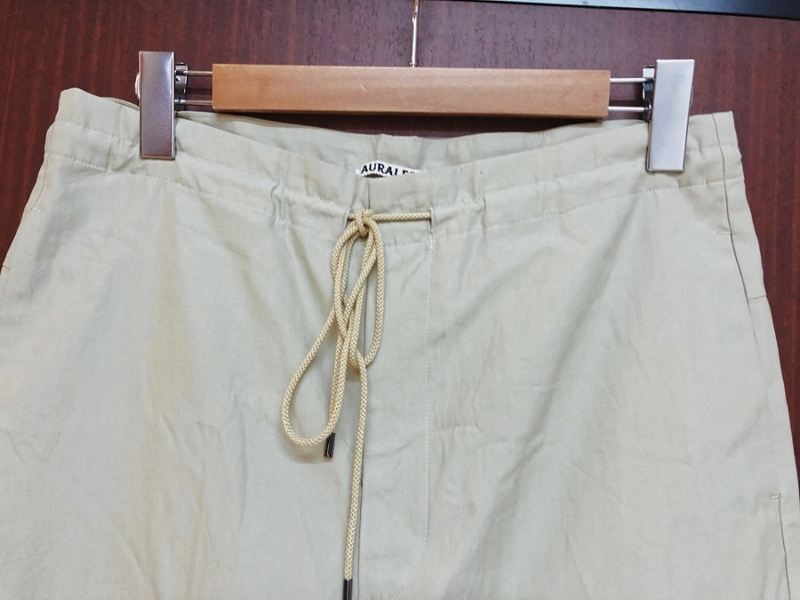 WASHED FINX TWILL EASY WIDE PANTSのメンズ