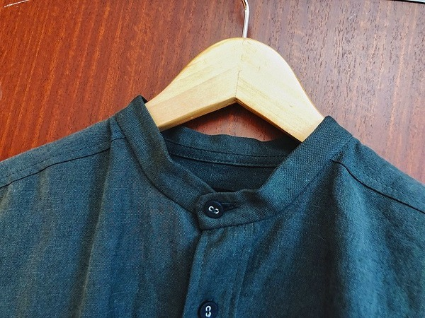 PRE WASHED LINEN SHIRTのメンズ