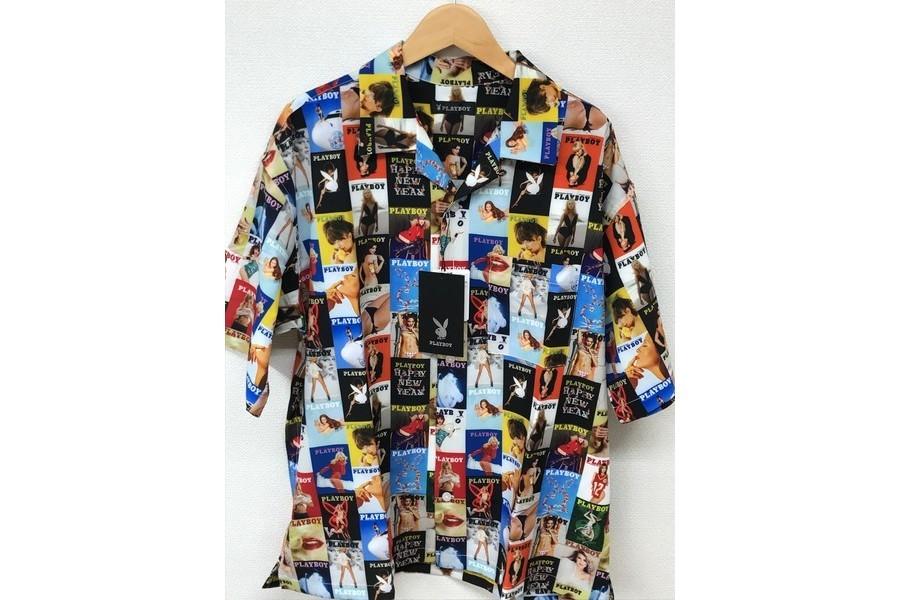 プレイボーイ×フリークスストアのシャツ ショーツ コラボ
