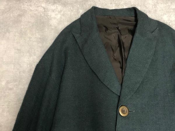 コートの経年真価のジャケットコート