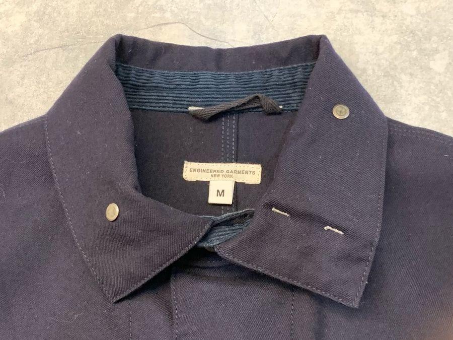 エンジニアードガーメンツのユニフォームクローズジャケット